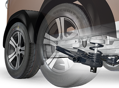 Ausstattung Sonderausstattung Fahrwerk Body Protect+