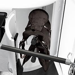 Innen Sattelkammertür – Öffnet Dir den direkten Weg von den Sätteln zum Innenraum