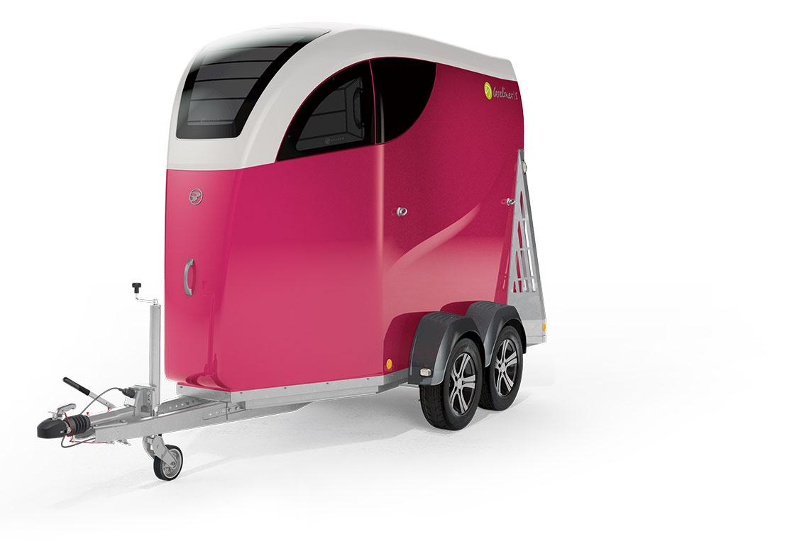 CARELINER|S Pferdeanhänger in Pink
