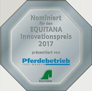 Nominiert für             EQUITANA Innovationspreis 2017