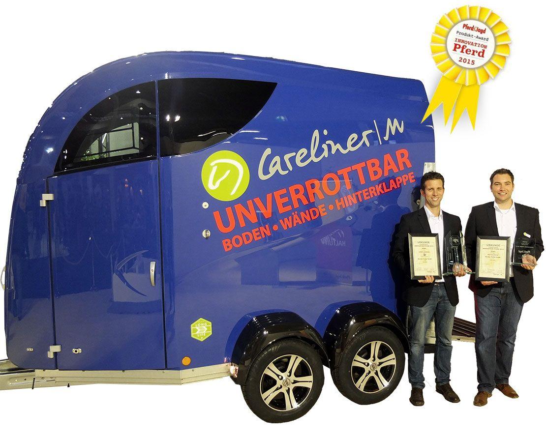 CARELINER Pferdeanhänger erhält Innovationspreis