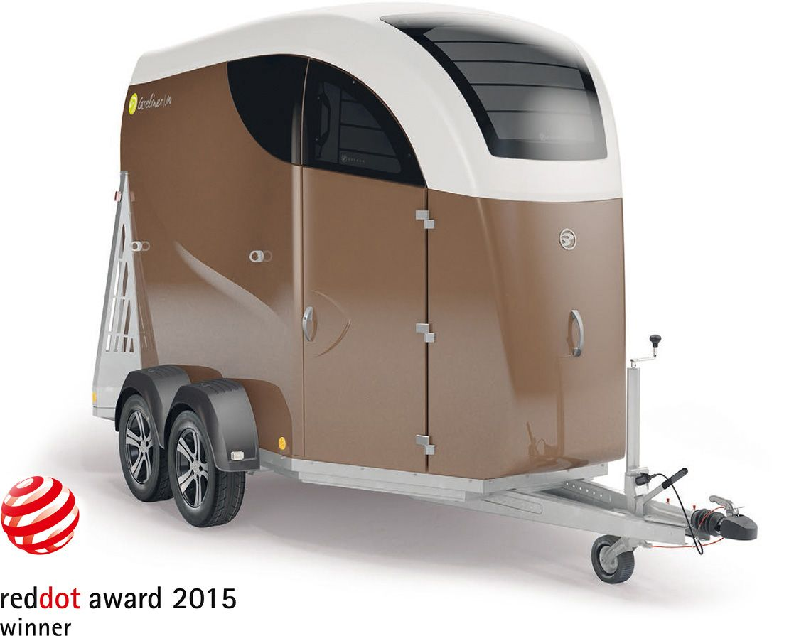 CARELINER horse trailer – reddot award 2015 winner