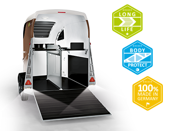 Horse Trailer innovations by Bücker Trailer