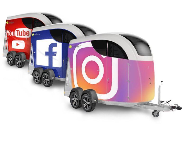 Careliner Pferdeanhänger Social Media