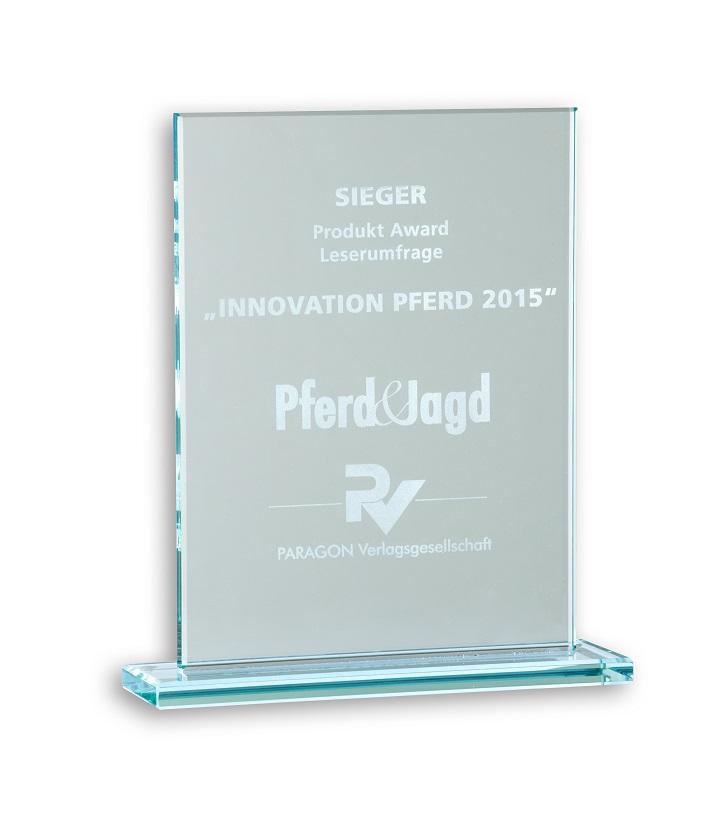 """Leser-Award """"Pferd & Jagd"""" 2015 - CARELINER Pferdeanhänger"""